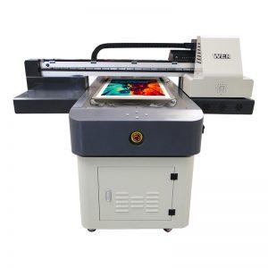 a4 आकार डिजिटल यूवी प्रिंटिंग मशीन पीवीसी कैनवास कपड़ा कालीन चमड़े के प्रिंटर