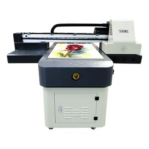 गर्म बिक्री a1 / a2 / a3 / a4 छोटे प्रारूप डिजिटल यूवी फ्लैटबेड प्रिंटर 6090