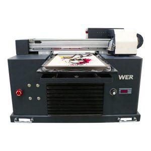 dtg मल्टीफ़ंक्शन फ्लैटबेड प्रिंटर - diy परिधान प्रिंटर कपड़ा प्रिंटर