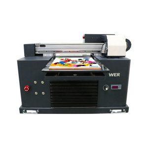 ईपीएस 1390 प्रिंटर हेड 6 रंगों के लिए मिनी ए 3 फ्लैटबेड यूवी प्रिंटर