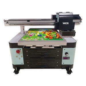 धातु / फोन के मामले / ग्लास / पेन / मग के लिए a2 आकार के यूवी फ्लैटबेड प्रिंटर