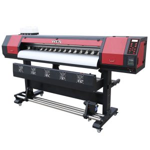 Dx5 प्रमुखों के साथ हेंसन बोर्डों के साथ 1.8 मीटर इको प्रिंटर