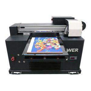 सस्ते कीमत a4 आकार यूवी किसी भी सामग्री के लिए फ्लैटबेड प्रिंटर का नेतृत्व किया