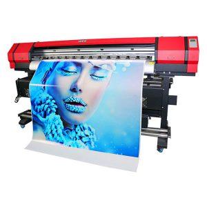 डबल dx7 प्रिंट सिर महान मूल्य के साथ उच्च सटीकता बड़े प्रारूप इंकजेट प्रिंटर
