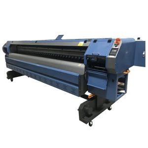 पर्यावरण विलायक प्रिंटर 10 फीट फ्लेक्स बैनर प्रिंटिंग मशीन