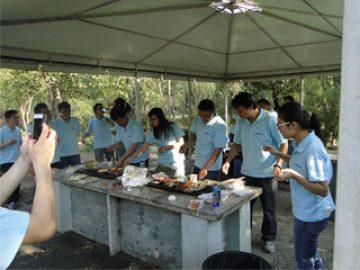 Gucun पार्क, शरद ऋतु 2017 में BBQ