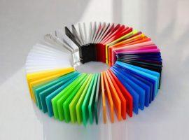 रंगीन Plexiglass